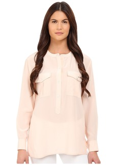 Theory Damaris Summer Silk Blouse