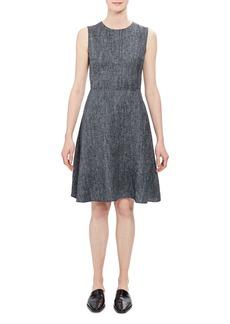Theory Dart Sleeveless A-Line Dress