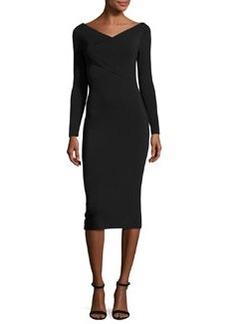 Theory Daverin Lustrate Sheath Dress
