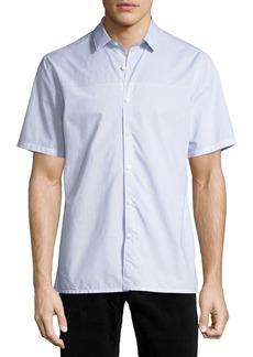 Theory Daze Striped Short-Sleeve Sport Shirt