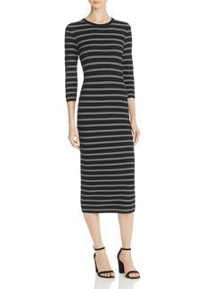 Theory Delissa Striped Maxi Dress