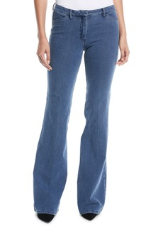 Theory Demitria 2 D Movement Flare Denim Jeans