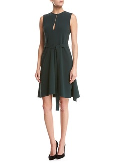 Theory Desza Admiral Crepe Dress