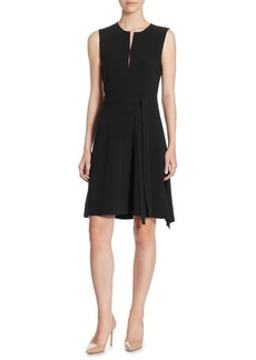 Theory Desza Crepe Dress