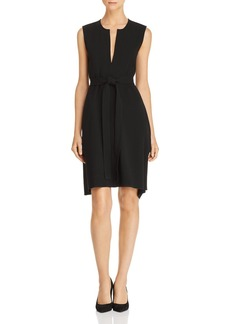 Theory Desza Tie-Waist Dress