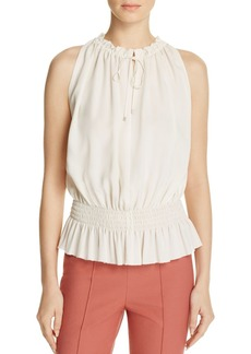 Theory Dezzie Classic Georgette Blouse