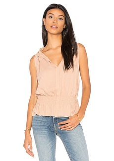 Theory Dezzie Tank in Peach. - size L (also in M,S)