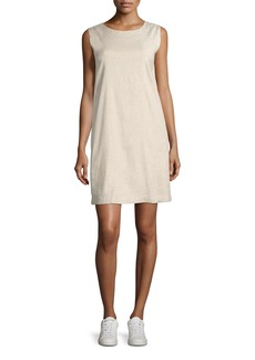 Theory Didianne Tierra Wash Sleeveless Shift Dress