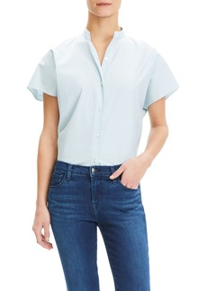 Theory Dolman Sleeve Cotton Shirt