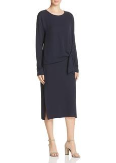 Theory Dorotea Silk Georgette Dress