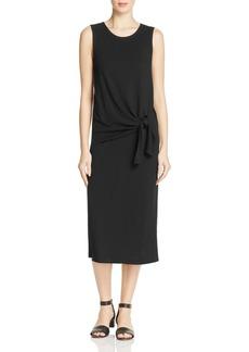Theory Dorotea Tie-Front Dress