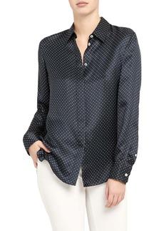 Theory Dot Button-Up Shirt