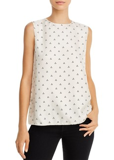 Theory Dot-Print Silk Shell