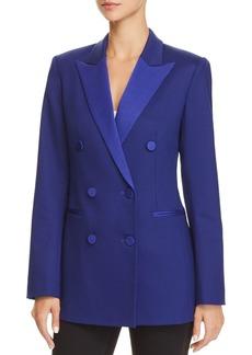 Theory Double-Breasted Tuxedo Jacket