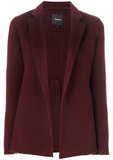 Theory double-faced pleated jacket - Pink & Purple