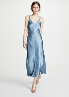Theory Double Strap Slip Dress
