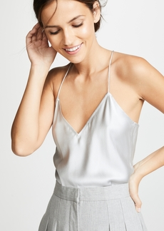 Theory Draped Back Slip Top