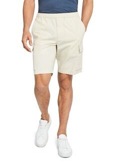 Theory Drawstring Poplin Shorts