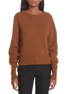 Theory Drop Shoulder Cashmere Sweater