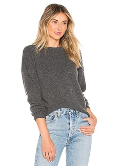Theory Drop Shoulder Crew Neck Sweater