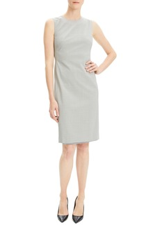 Theory Eano Good Wool Sheath Dress (Nordstrom Exclusive)
