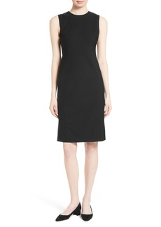 Theory Eano Stretch Wool Sheath Dress (Nordstrom Exclusive)