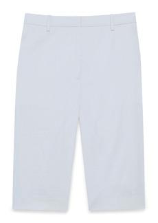 Theory Easy Linen Blend Bermuda Shorts