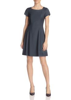 Theory Elex Fit-And-Flare Dress