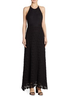 Theory Elizabetha Daisy Lace Dress