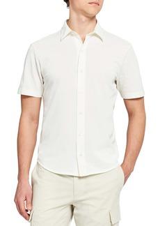 Theory Fairway Short Sleeve Button-Up Shirt