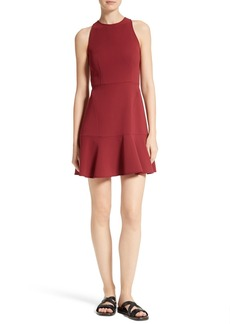 Theory Felicitina Fit & Flare Dress