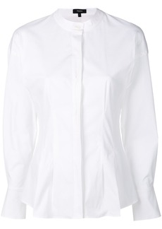 Theory fitted waist shirt - White