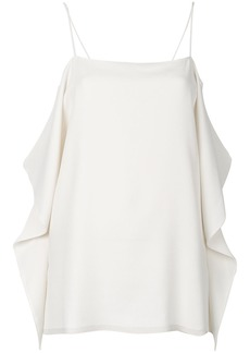 Theory flappy sides blouse - Nude & Neutrals