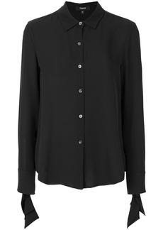 Theory flared cuff shirt - Black