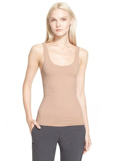 Theory 'Fliore' U-Neck Stretch Tank
