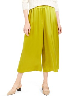 Theory Fluid Silk Culottes