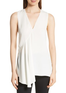 Theory Fluid Silk Georgette Top