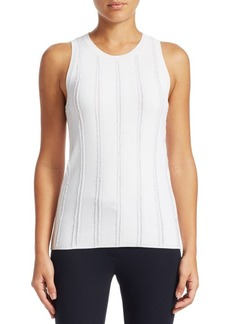 Theory Fringe Sleeveless Top