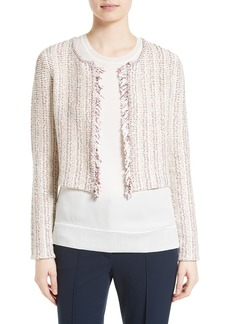 Theory Galinne Speckle Bouclé Jacket
