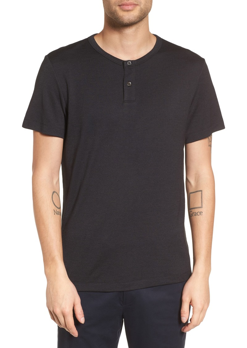 Theory Gaskell Anemone Slim Fit Henley (Nordstrom Exclusive)