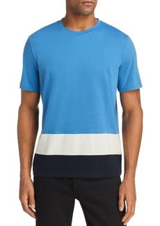 Theory Gaskell Colorblock-Hem Tee - 100% Exclusive