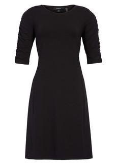 Theory Gathered Sleeve Dress