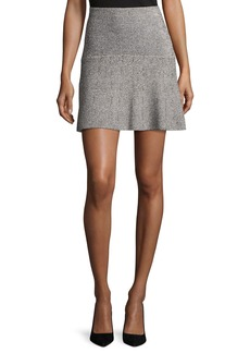 Theory Gida KM Prosecco Knit Miniskirt