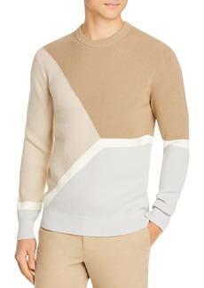 Theory Gregg Fine Bilen Colorblocked Sweater