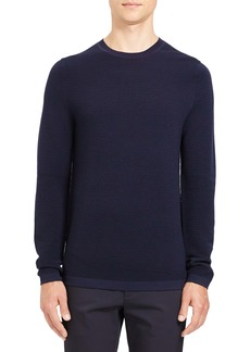 Theory Grego Slim Fit Crewneck Wool Sweater