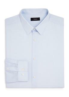 Theory Grid Slim Fit Dress Shirt