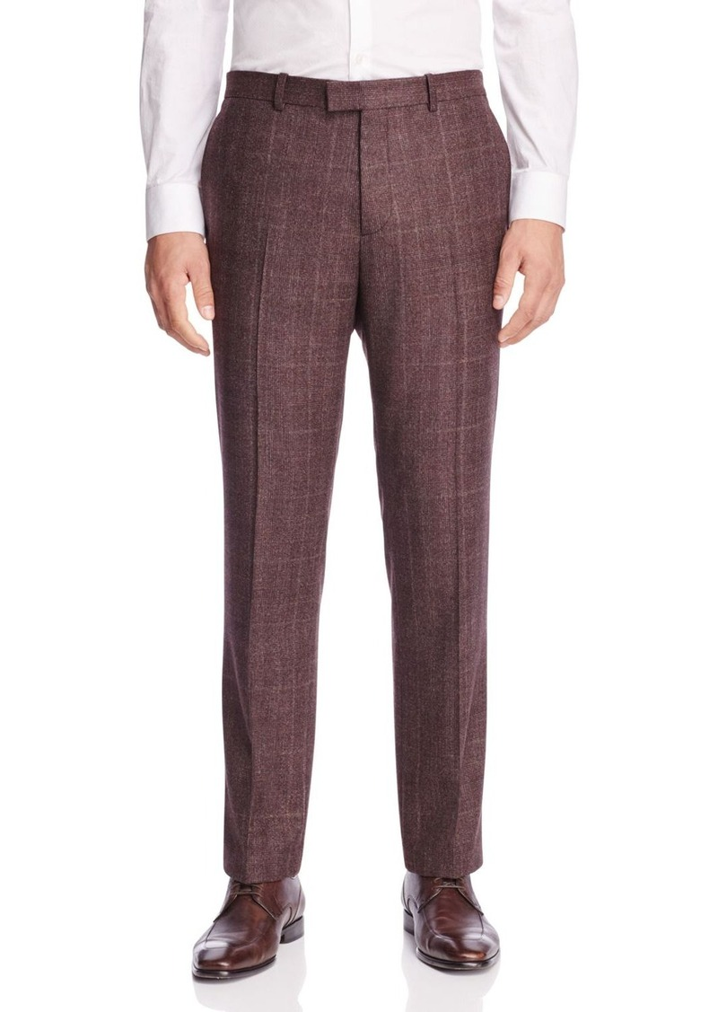 Theory Harkness Plaid Slim Fit Trousers - 100% Bloomingdale's Exclusive