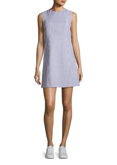 Theory Helaina Sayre Striped A-Line Mini Dress