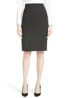Theory Hemdall B Good Wool Suit Skirt (Nordstrom Exclusive)