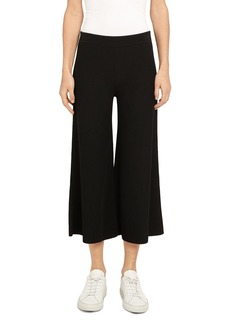 Theory Henriet Cropped Wide Leg Pants